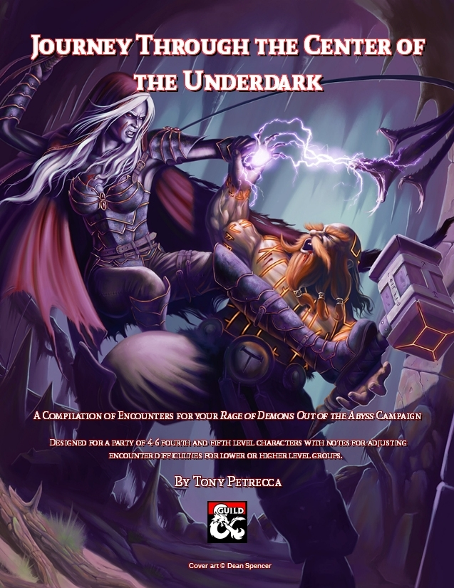 DMs Guild Review: Journey Through the Center of the