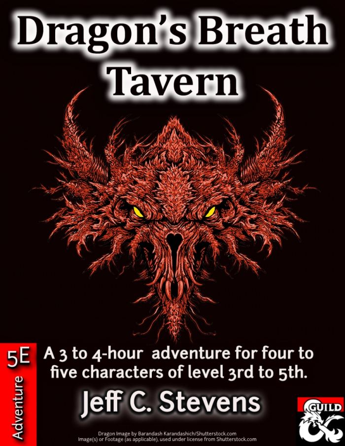 DMs Guild Review – Dragon's Breath Tavern