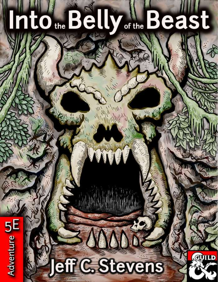 DMs Guild Review – Into the Belly of theBeast