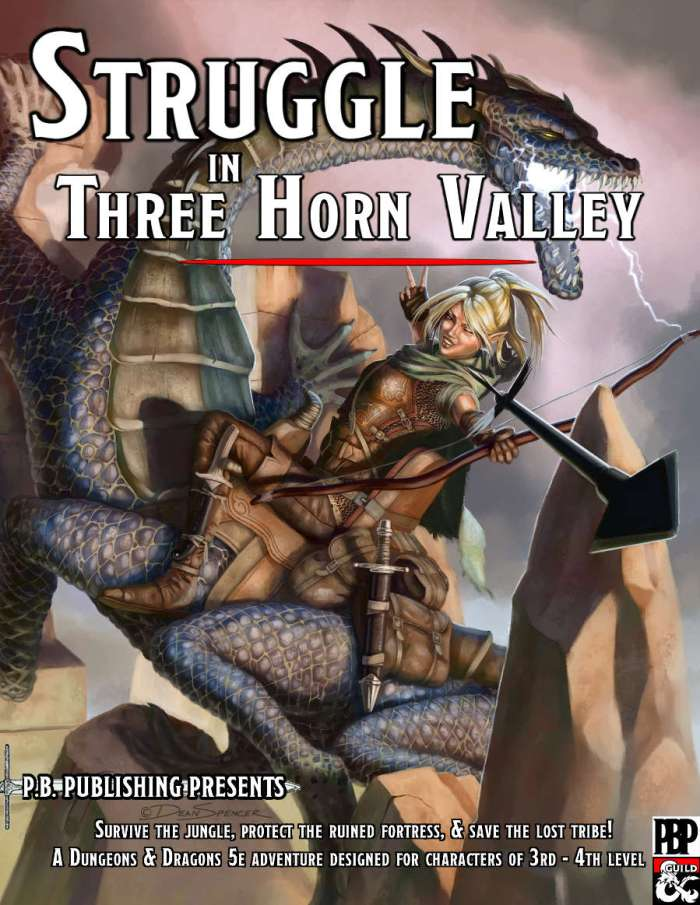 DMs Guild Review – Struggle in Three Horn Valley