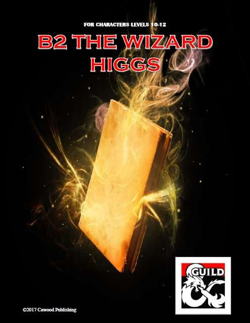 DMs Guild Review – The Wizard Higgs