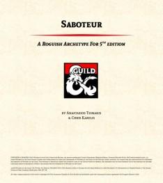 SaboteurCover