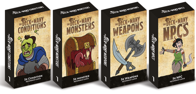 Kickstarter Preview The Deck Of Many The Kind Gm