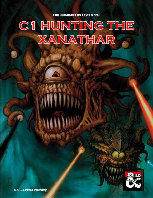 DMs Guild Review – C1 Hunting theXanathar