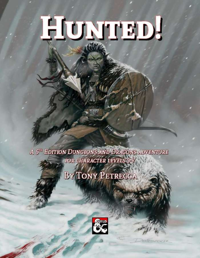 DMs Guild Review –Hunted!