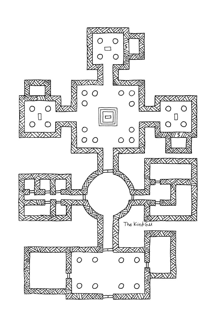 Map – Temple of the Fates