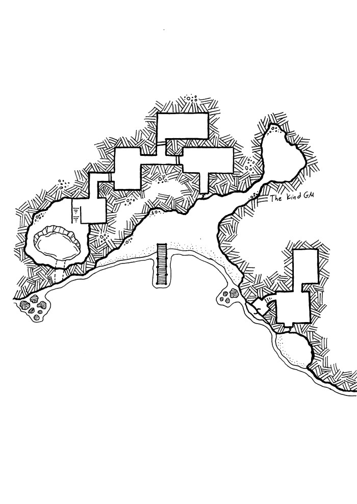 Map – The Smugglers of Anohr Cove