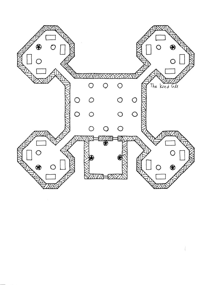 Map – The Mausoleum of the Chegoge Family