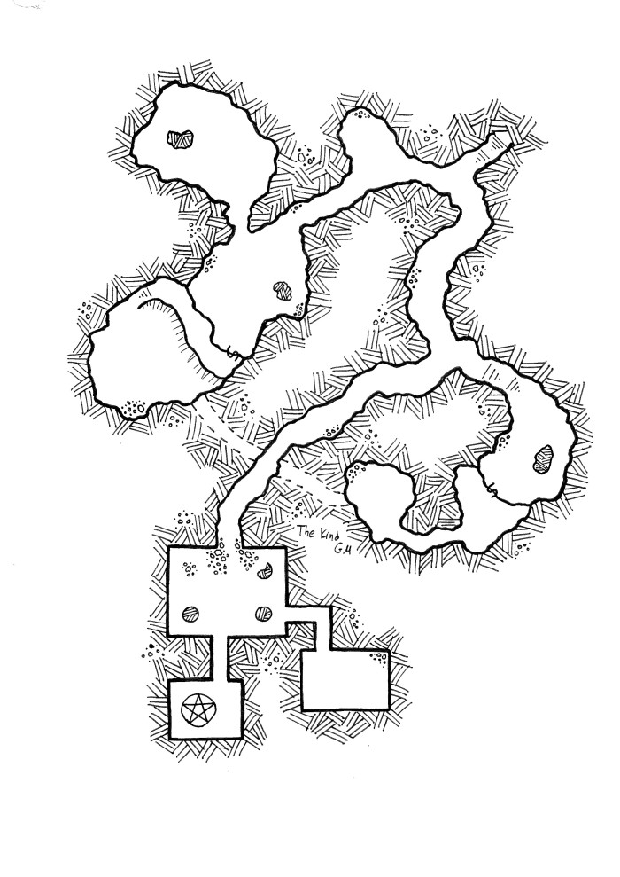 Map – Return to the Daorm Caves Part 2