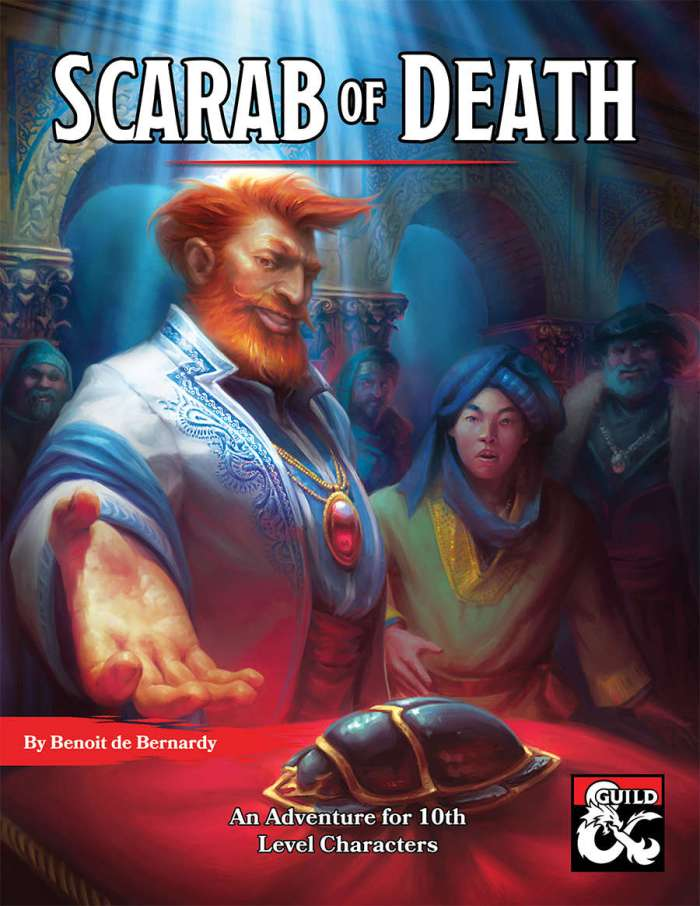 DMs Guild Review – Scarab of Death
