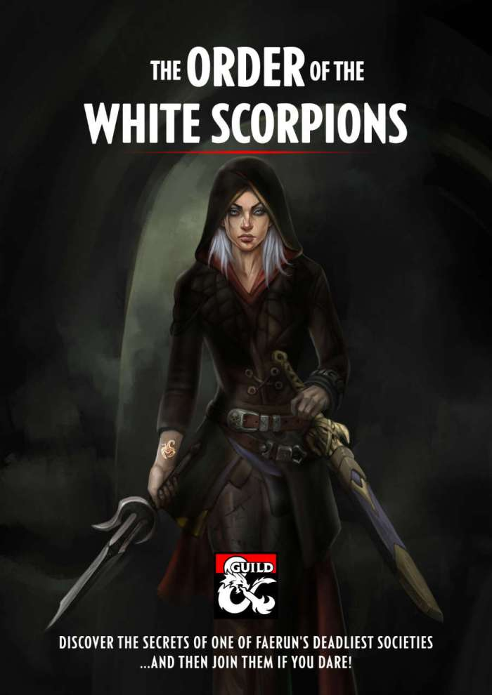 DMs Guild Review – The White Scorpions Assassins Guild