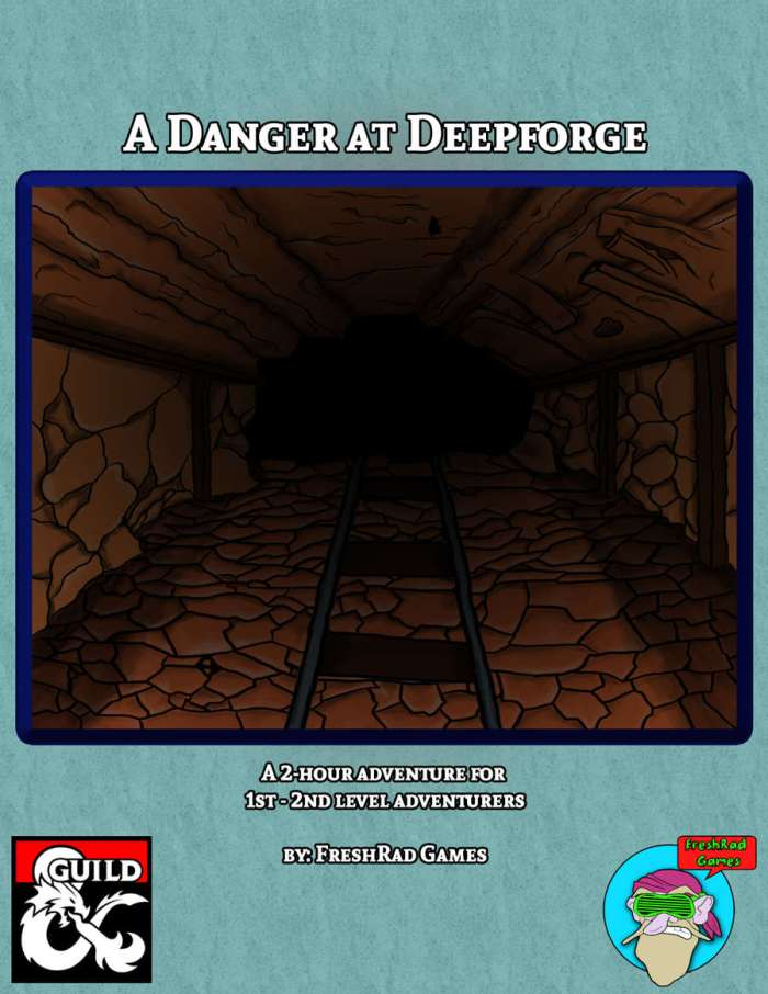 DMs Guild Review – A Danger at Deepforge