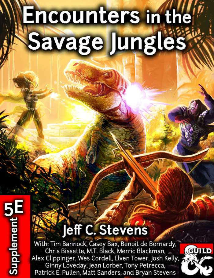 DMs Guild Review – Encounters in the Savage Jungles