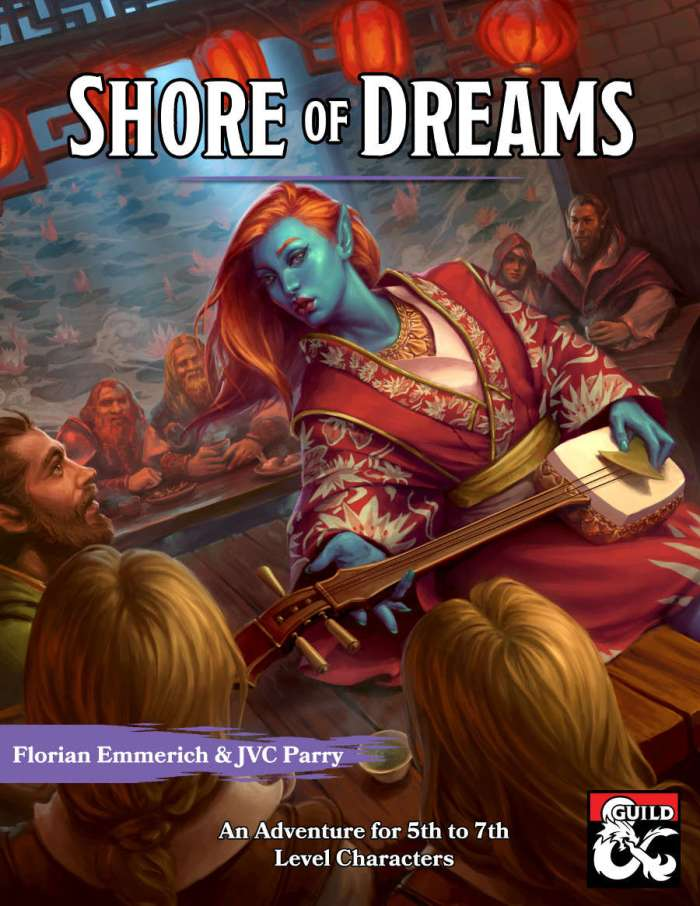 DMs Guild Review – Shore of Dreams