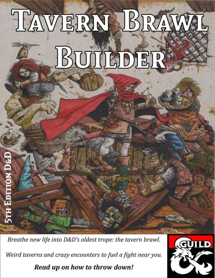 DMs Guild Review – Tavern Brawl Builder