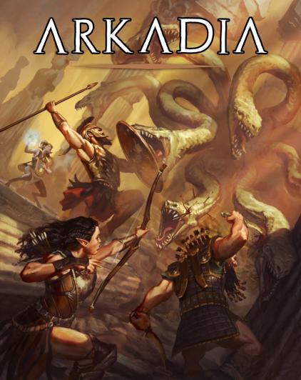 Kickstarter – Arkadia: The Mythic Greek Setting for 5e