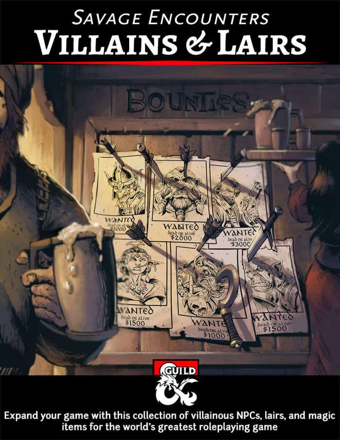 DMs Guild Preview – Villains &Lairs