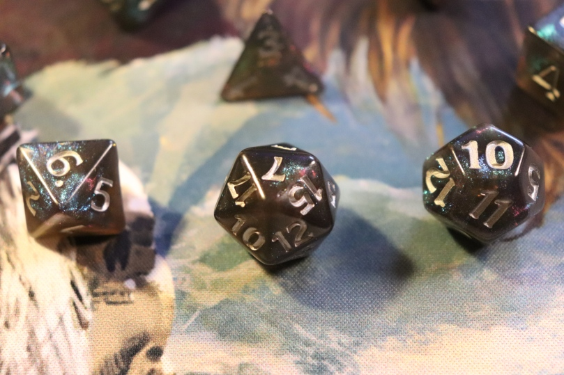 Rime of the Frostmaiden Dice